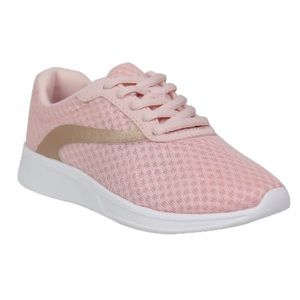 Athletic works baby pink little girls tennis shoes